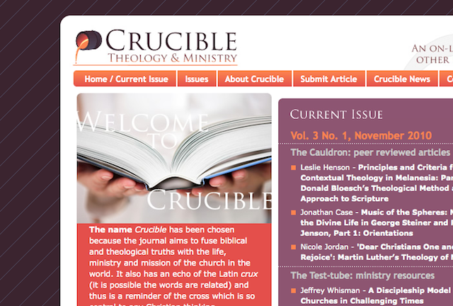 Nicole Jordan's Article published in the Crucible